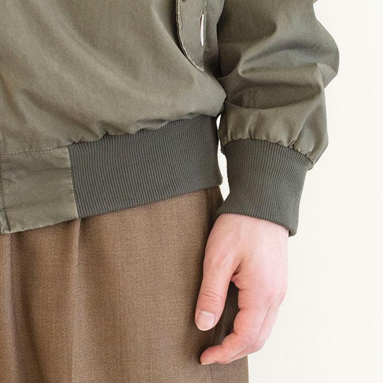 袖・裾野リブのアップ