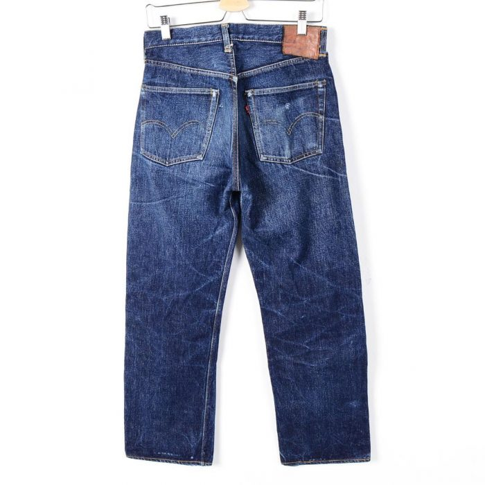 501 DENIM PANTS 50s 革パッチ