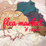 *Christmas flea market  11/23~24開催‼*