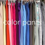 *color pants new in!!!*