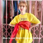 "How to use ""Multi Organdy Ribbon""!!"