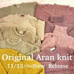 ♡Elulu Original aran knit New Release!!!!!♡