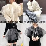 Elulu Original Multi Organdy Apron New Release!!!!!