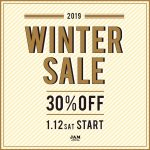 ~WINTER SALE 30%OFF 1/12(SAT) START~【レディース編】