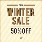 ~WINTER SALE 50%OFF 1/15(SAT) START~ 【メンズ編】