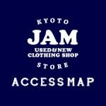 古着屋JAM京都店(御幸町通沿い)・ アクセスマップ