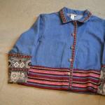 Decoration Denim jacket 古着屋 JAM 京都