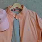 男のパステルピンク ~shared wardrobe~。    京都 古着屋 JAM