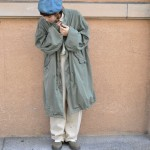 Earth Color で Oversize Coordinate 古着屋 JAM 京都