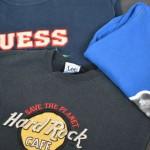 Hard Rock CAFE GUESS、、、 カジュアルスウェットでユニセックススタイル 古着屋 JAM 京都