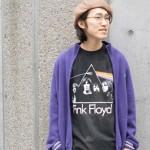 OLDバンT × ジャージスウェット で拘りある春コーデに。 古着屋JAM京都店