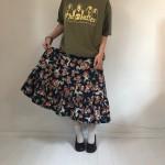 * おすすめ柄スカート * 古着屋 JAM 京都 レディース