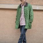 キルティングジャケットでClassicに ◎ 古着屋 JAM 京都