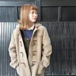 GLOVERALL × ミリタリーオーバーコート × ネルシャツ ◎ 古着屋 JAM 京都