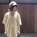 総柄半袖コットンシャツ特集 古着屋JAM京都