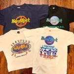 Hard Rock CafeのTシャツもオンラインショップに沢山掲載してます!!!