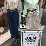 JAMリメイク 3WAYセットアップ 京都レディース店の着回し術!