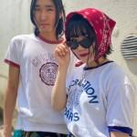 🌼 リンガーTシャツ + ミリタリーパンツ スタイリング 🌼