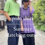 【古着屋JAM京都四条店】ポロシャツでサマーペアルック