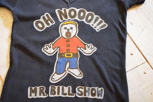 古着のプリントTシャツ