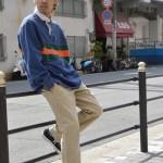 ~ラガーシャツ × チノパン ストリートstyle~