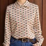 70's STYLE×TOREND   ポリシャツ × ランジェリー