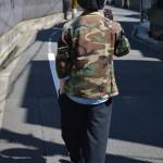 ~ミリタリーシャツ × スウェットパンツ スタイル~