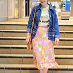 GWドレスコード【デニム】刺繍シャツ×キルティングスカート