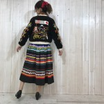 souvenir jacket × Seminole skirt VINTAGE STYLE