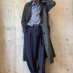 ~TODAY'S RECOMMEND~【ショップコート × ドレスシャツ × リネンスラックス × ドクターマーチン】
