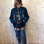 ~TODAY'S RECOMMEND~【チマヨジャケット × ボタンダウンシャツ × デニムパンツ×スニーカー 】