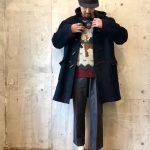 ~TODAY'S RECOMMEND~【ダッフルコート×ノルディックセーター×スラックス×レザーシューズ】