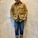 ~TODAY'S RECOMMEND~【ハンティングジャケット×ヘビーネルシャツ×デニムパンツ×レザーブーツ】