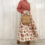 ~TODAY'S RECOMMEND~【Western shirt × 70s Tiered skirt × OLD COACH】
