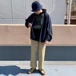 ~TODAY'S RECOMMEND~【ルーズシルエットシャツ×スウェットパーカー×ディッキーズ×クラークス】
