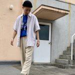 夏のおしゃれにオススメ!!【リネンシャツ】