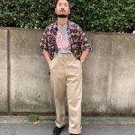 桃谷店スタッフによるアロハシャツスタイリング!
