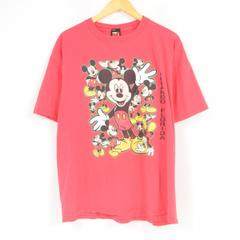 MICKEY UNLIMITED MICKEY MOUSE ミッキーマウス ディズニー キャラクタープリントTシャツ フリーサイズ /war1185 【古着屋JAM】 【180505】【SS1907】【PD】