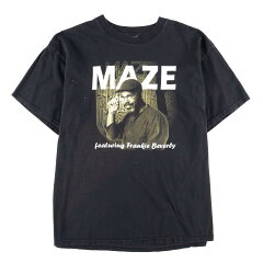DELTA MAZE featuring Frankie Beverly LOVE IS THE KEY バンドTシャツ メンズXL /wbe2654 【190614】