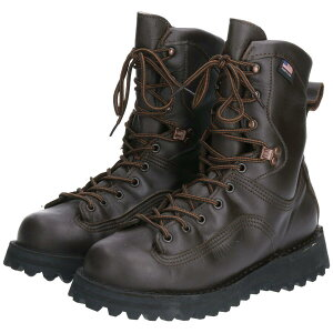 ダナー DANNER 45800 SANTIAM 8 BROWN 400G ワークブーツ USA製 8D メンズ26.0cm /boq6341 【200131】【JS2010】