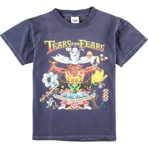 DELTA PRO WEIGHT TEARS FOR FEARS ティアーズフォーフィアーズ EVERYBODY LOVES A HAPPY ENDING バンドTシャツ レディースS /eaa012755 【200305】