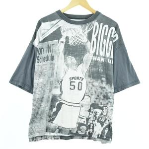cheyrier NBA on INT 92/93 schedule bigger than life スポーツプリントTシャツ メンズL /eaa053725 【200711】