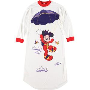 St michael MINNIE MOUSE ミニーマウス Tシャツワンピース 英国製 レディースXS /eaa063111 【200802】